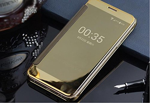 more photos 413bc 53c56 MOBISTYLE New Luxury Smart Semi Clear View Mirror Flip Cover for ...
