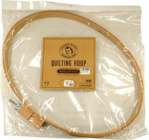 Country Mama Patchwork Goods Quilting Oval Hoop No. 5 by Yokota