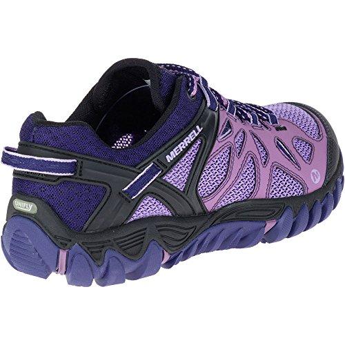 Merrell Women's All Out Blaze Aero Sport Trail Runner, Very Grape, 8 B(M) US by Merrell (Image #7)