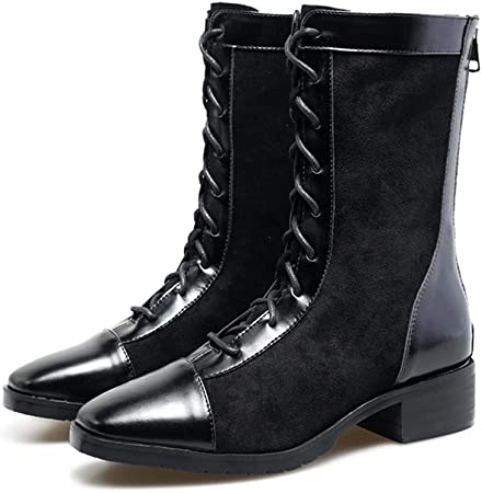 SHOES HYY Damenschuhe Stiefel, 2019 New Martin Stiefel