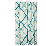 Danica Studio Unisex Ruffle Shower Curtain Multi Shower Curtain