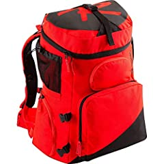 The HERO BOOT PRO is a World Cup circuit, heavy-duty large compartment boot and gear backpack. Made with 600D Polyester and PVC coating, features include: protective internal helmet and goggle storage; two external storage pockets; external s...