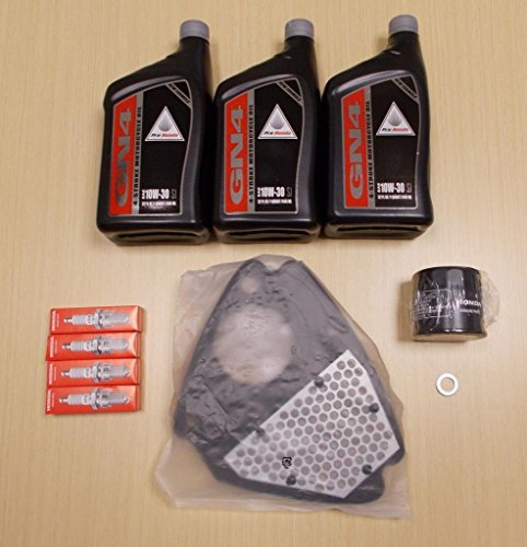 (New 1999-2007 Honda VT 600 VT600 Shadow VLX OE Complete Oil Service Tune-Up Kit )