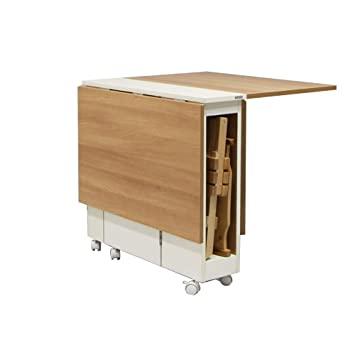 Amazon.com: LXF Folding Wall-Mounted Table Folding Table ...
