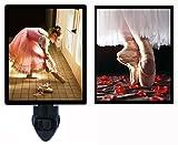 Night Light Plus Additional Switchable Insert - Dance - Ballet - Ballerina - Dancing LED NIGHT LIGHT