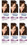 Clairol Nice n' Easy Hair Color #78 Medium Golden Brown (Pack of 6) UK Loving Care + FREE Old Spice Deadlock Spiking Glue, Travel Size.84 Oz