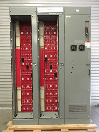 (Allen Bradley 800A 300A Motor Control Center 4X MCC & 2X Drive Sections 800 Amp)