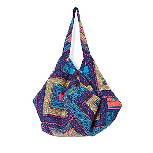 Beach Handbag Tote Satchel Canvas Summer Womens Shopping 5 Bag Bags Shouler OqPwtawnIx