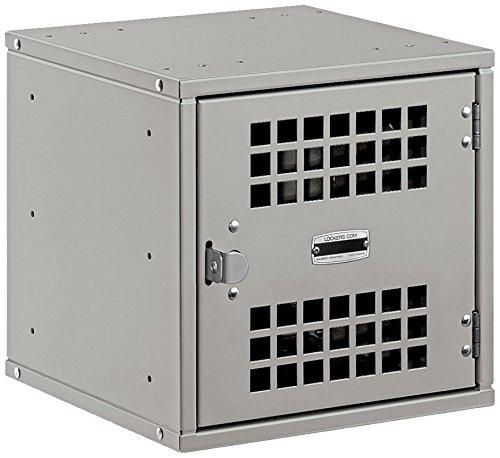 Salsbury Industries Modular Locker with Vented Door, 12-Inch, Gray by Salsbury Industries