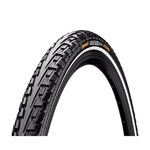 Continental Tour Ride Tire (Continental Ride Tour Cross/Hybrid Bicycle Tire - Wire Bead (Black - 700 x 47C))