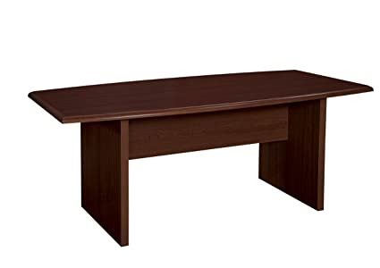 Amazoncom Target Series X Boat Shaped Conference Table - Target conference table
