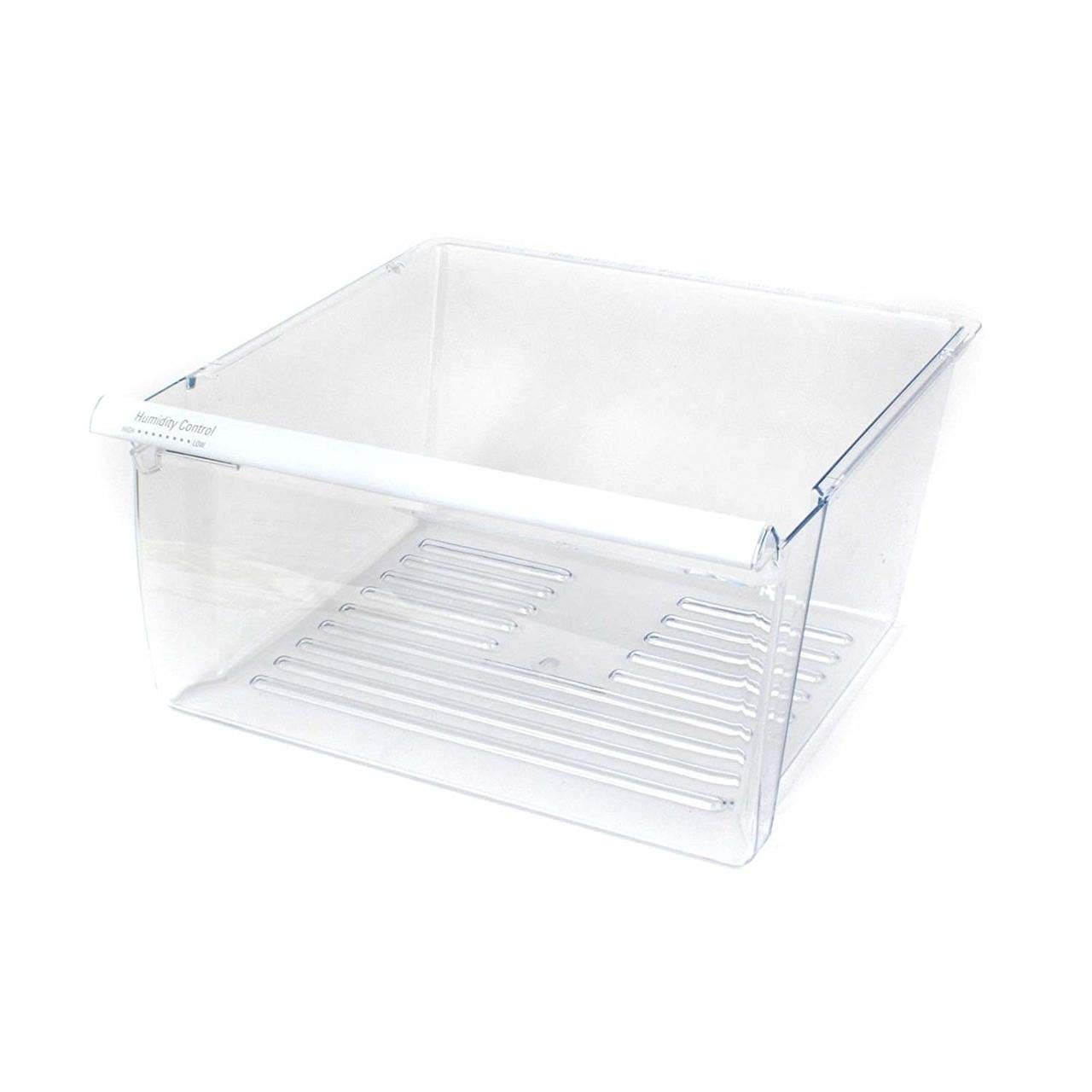 (RB) Clear Refrigerator Crisper Pan WP2188656 PS890591 for 2188656 Whirlpool