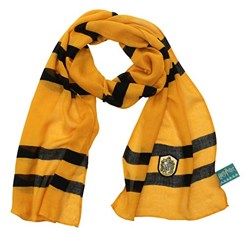 elope Harry Potter Hufflepuff House Lightweight (Licensed Harry Potter Scarf)