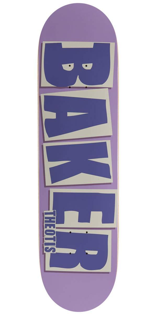 CCS Grip Purple 8.00 with Bones Speed Cream Skate Tool Baker Theotis Brand Name Skateboard Deck and 1 Hardware