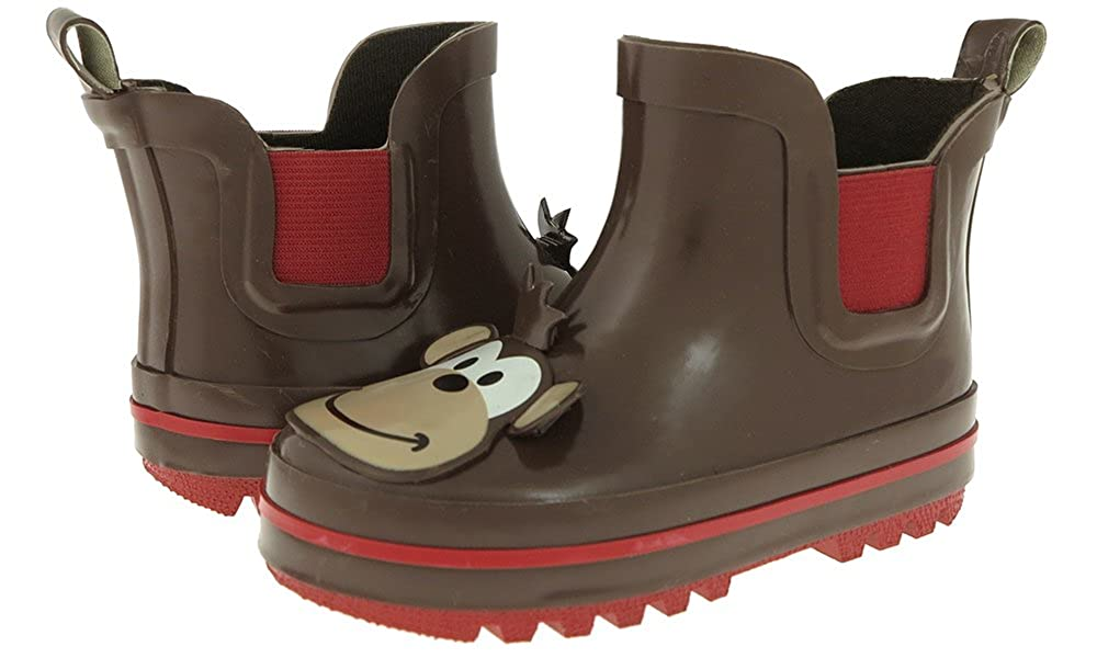 Capelli New York Toddler Boys Monkey Face Rain Boot TRB-1081