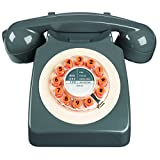 Wild Wood 746 Phone, Retro Design, Concrete Grey
