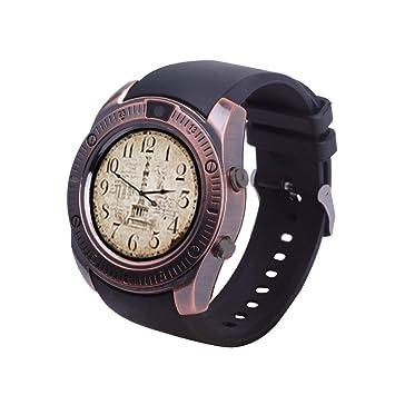 FSDRFRF Reloj Inteligente Vintage Bluetooth Smartwatch ...