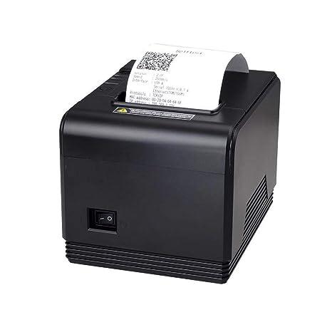 Impresora térmica de recibos de 80 mm, Impresora POS con puerto ...