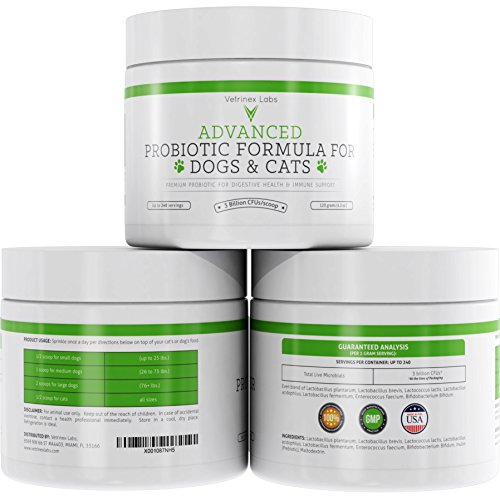Probiotics Dogs Cats Prebiotic Supplement product image