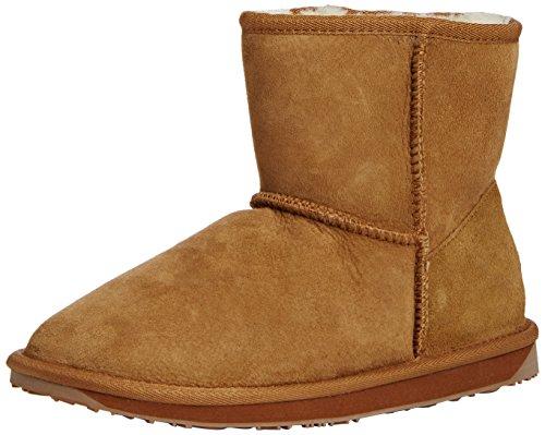 Chestnut Womens Stinger Mini US Australia Sheepskin Boots 8 Emu waIBUqx5EE