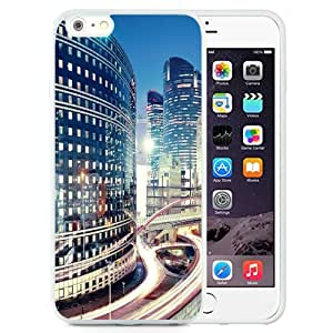 NEW Unique Custom Designed iPhone 6 Plus 5.5 Inch Phone Case With La Defense Paris Skyline_White Phone Case