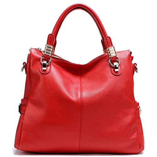 Retrò Versatile 20 Donna Fashion Da 10 Borsa l Tracolla brown A Classica 16cm Borsetta Red nSTIxaR
