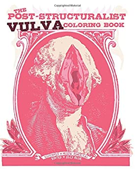 Post-Structuralist Vulva Coloring Book