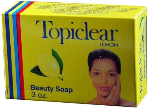 (Topiclear Lemon Beauty Soap. 3.0oz by Topiclear)