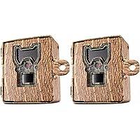 Bushnell 119754C Trail Cam Accessories Aggressor Security Box, Tree Bark Camo, 2-Pack