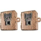 Bushnell 119754C Trail Cam Accessories Aggressor Security Box, Tree Bark Camo, 2-Pack