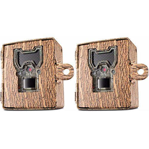 Camo Wildlife Series (Bushnell 119754C Trail Cam Accessories Aggressor Security Box, Tree Bark Camo, 2-Pack)