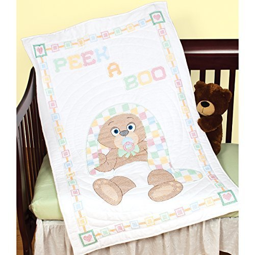 - Peek A Boo Crib Quilt Top by Jack Dempsey Needle Art
