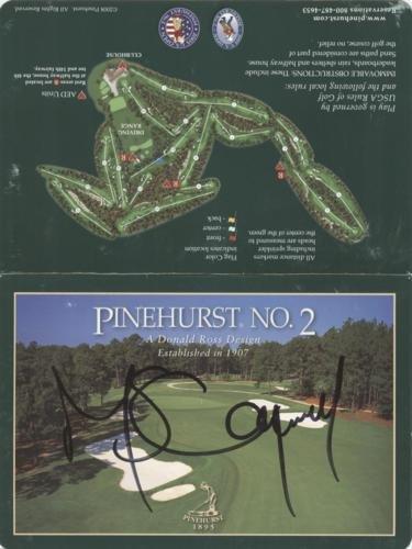Michael Campbell Autographed Pinehurst No. 2 Golf Scorecard - 2005 U.S. Open Champion
