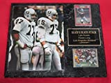 Lyle Alzado Howie Long Los Angeles Raiders 2 Card