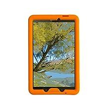 Bobj for Samsung Galaxy Tab E 9.6 (SM-T560, SM-T560NU), Tab E Nook 9.6 - BobjGear Protective Tablet Cover (Outrageous Orange)