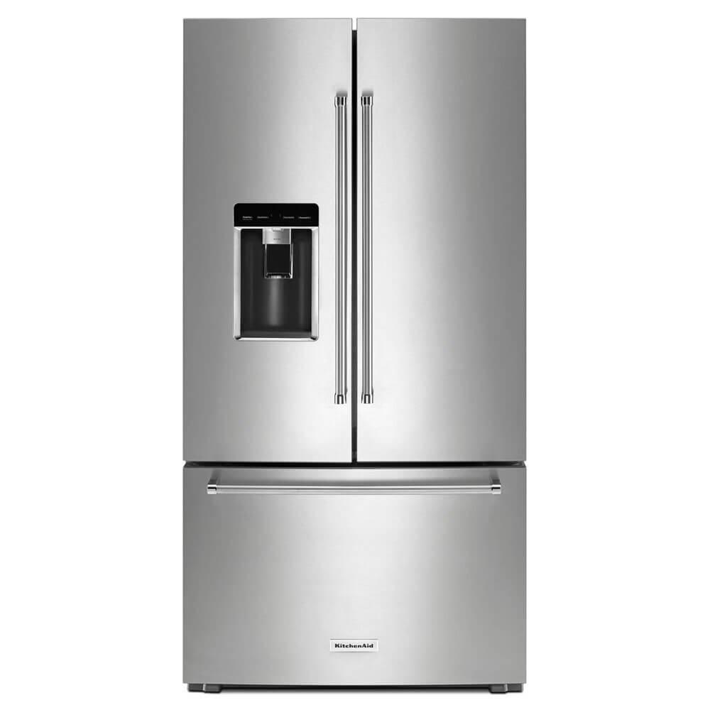 Kitchen Aid KRFC704FPS / KRFC704FPS 23.8 Cu. Ft. Stainless French Door Counter-Depth Refrigerator