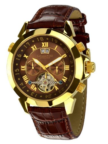 Calvaneo Astonia Elegance Brown Gold Automatic