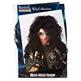 California Costumes Men's Heavy Metal Rocker Wig,Black,One Size