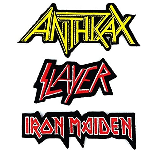 heavy metal back patches amazon com rh amazon com Rock and Metal Band Logos Hard Rock Band Logos