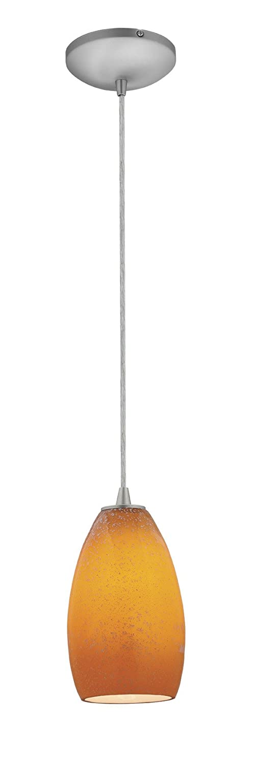 Access lighting 28012 1c bslgr champagne glass pendant one light access lighting 28012 1c bslgr champagne glass pendant one light pendant with cord and light green glass shade brushed steel finish ceiling pendant mozeypictures Image collections