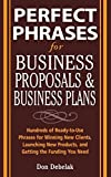 img - for Perfect Phrases for Business Proposals and Business Plans (Perfect Phrases Series) Paperback   September 19, 2005 book / textbook / text book