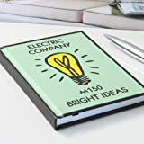 Bright Ideas Monopoly A6 Notebook - hardback board game themed notepad