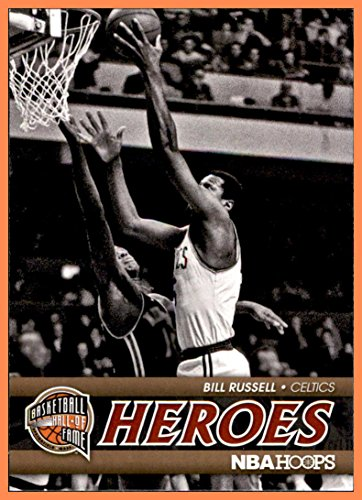- 2011-12 Hoops Hall of Fame Heroes #1 Bill Russell BOSTON CELTICS