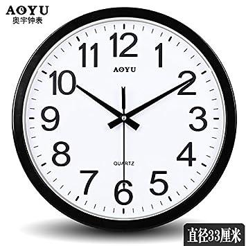 Schlanke Minimalistische Buro Leise Uhr Uhr Schlafzimmer Wohnzimmer