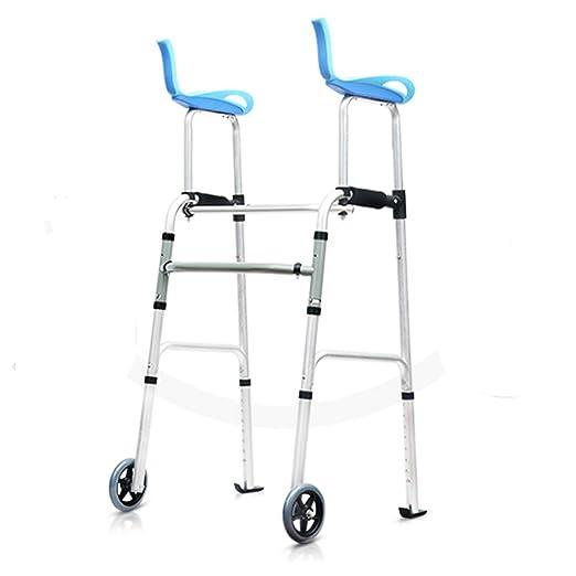 MyAou-Andadores Soporte para piernas Walker Frame Power Walker ...