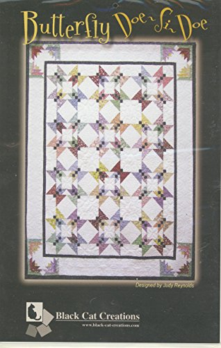 Butterfly Doe-Si-Doe Quilt Pattern By Black Cat Creations 62