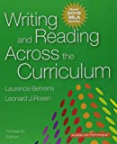 img - for Writing and Reading Across the Curriculum, MLA Update Edition (13th Edition) book / textbook / text book