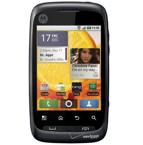 Motorola Citrus WX445 Android Smartphone 3-megapixel camera for Verizon