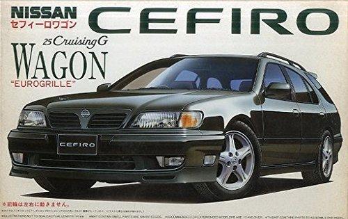 フジミ 1/24 ニッサン セフィーロワゴン 25クルージングG ユーログリル 「インチアップシリーズ No.88」の商品画像