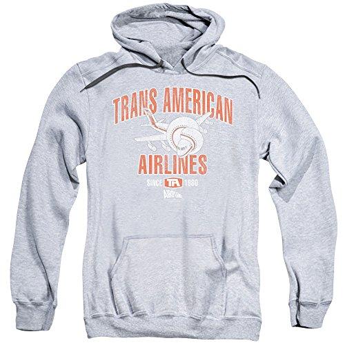 uomo Athletic Felpa da Trans Airplane America cappuccio con di SFqIU6